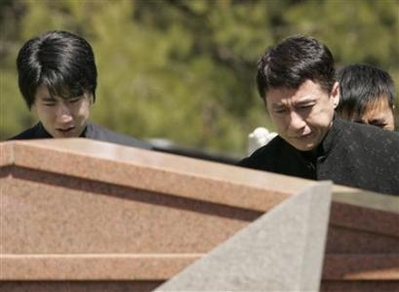 jackie chan father funeral - photo #9