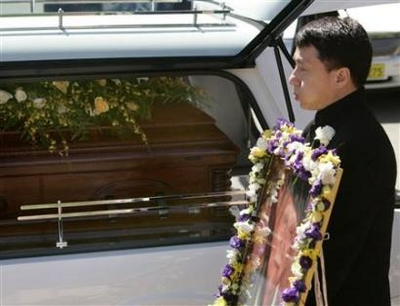jackie chan father funeral - photo #21